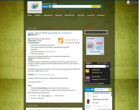 freshersmania.net